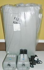 Sleep Number Bed FlexTop KING Dual Temp Mattress Layer Topper& Pumps or Twin XL