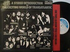 THE EXCITING WORLD OF TRANSATLANTIC ~ Various Artists ~ VINYL LP