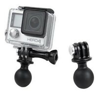 Portable RAM Mount Tripod Ball Head Adapter For GoPro HD Hero 2 3/3+/4 Camera