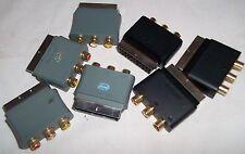 XBOX 360-AV RCA UFFICIALE Blocco SCART Connettore Adattatore