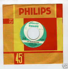 45 RPM SP JACQUES BREL LE MORIBOND (1961)