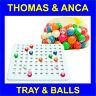 Recessed Check Tray & 22mm 1-90 Bingo Balls