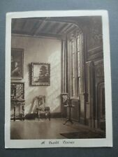 Vintage CHRISTMAS Card Sunlit Corner Room Interior McKenzies Artistic Series