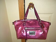Authentic Coach Poppy Sweetheart Pink Sequin Rocker Tote 16339 Limited Edition