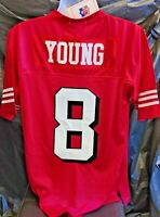 Red Mitchell & Ness San Francisco 49ers 48 medium Steve Young Throwback Jersey