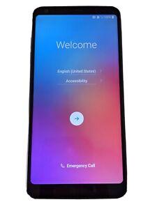 LG G6+ US997U 128GB Black Cell Phone (Network Unlocked) with Spigen Rugged Case