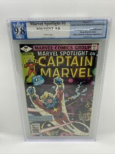 Marvel Spotlight on Captain Marvel v2 #1 PGX 9.8 NM/MT White Pages 1979
