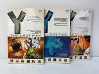Lot Of 3 - Y: The Last Man (Book 2, 4 & 8) Vertigo Comics Brian K. Vaughan Rare