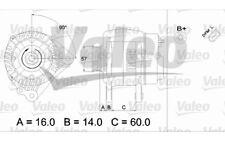 VALEO Alternador para SEAT IBIZA CORDOBA VW POLO SKODA FABIA PRAKTIK 437411