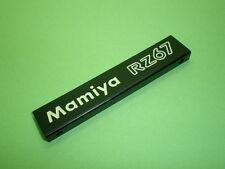 Mamiya RZ67 Original PD Finder Nameplate