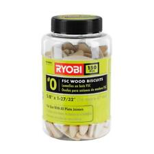 "Ryobi A05Wb01 Fsc Wood Biscuits 150 Pc 150-piece #0 wood biscuits 5/8"" x 1-27/32"