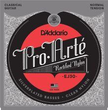 D'addario Ej30 cordes pour Guitare Classique - tension normale