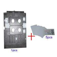 For EPSON R390 R295 R268 R285 L800 L801 T50 P50 Inkjet PVC ID Card Printing Tray