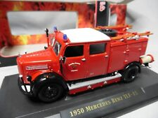 DV8704 YAT MING ROAD SIGNATURE 1/43 MERCEDES BENZ TLF-15 FIRE ENGINE 1950 43013