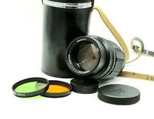 KMZ Black TAIR-11A Soviet SLR Lens 2.8/135 M42 mount Retro Tele Portrait JNR98