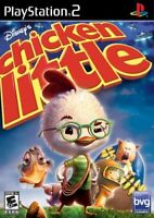 Chicken Little ( PS2 Sony Playstation 2 ) TESTED