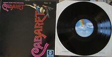 CABARET - MOVIE SOUNDTRACK - 1970's Album Vinyl