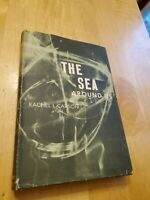 the sea around us, 1951, Rachel Carson, 1st edition, later printing, hcdj