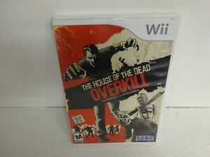 The House Of The Dead OVERKILL Nintendo Wii  ~ W/ Instructions ~FREE SHIP