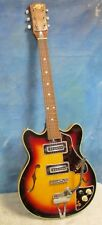 Vintage CHECKMATE Hollow Body Electric Guitar Project J88