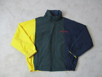 VINTAGE Nautica Sailing Jacket Adult Extra Large Yellow Reversible Mens 90s *