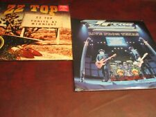 ZZ TOP LIVE SET FROM TEXAS & LIVE GREATEST HITS FROM AROUND THE WORLD 4 LP SET