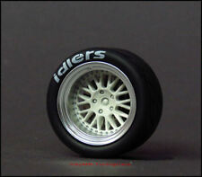1:18 Tuning Porsche 964 RWB Cabrio Duck Tail Alu-Felgensatz + Sportbremsscheiben