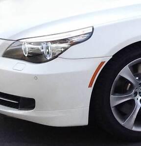 Genuine BMW E60 E61 LCI 528i 535i xDrive 535xi 550i 08-10 Front Left Reflector