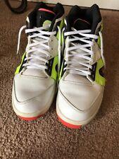 Nike Air Tech Challenge Hybrid 653873-100 Hybrid White Volt 9.5M  Sneakers Shoes