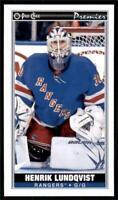 2020-21 O-Pee-Chee OPC Mini Tallboys #P-35 Henrik Lundqvist - New York Rangers