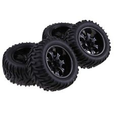 "103mm Rubber Tires Tyres 1.9"" Wheels for 1/10 RC Crawler Monster Truck Car F"