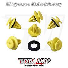 15x Clip Habillage de porte innenverkleidungsclip POM AUDI, VW SEAT avec joint