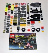 Lego 79102 Teenage Mutant Ninja Turtles Stealth Shell in Pursuit.100% complete