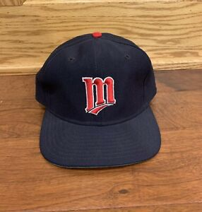Vintage Minnesota Twins New Era Snapback MLB baseball Cap