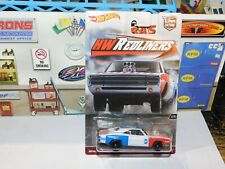 HOT WHEELS 1/64 CAR CULTURE HW REDLINERS '70 DODGE CHARGER R/T Real Riders
