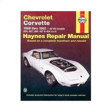 Revue technique pour Chevrolet Corvette de 68 à 82