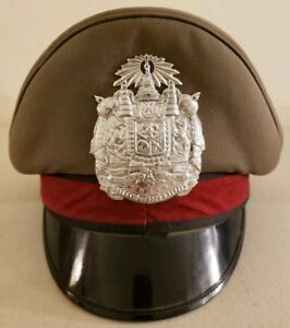 Vintage Thailand National Police 'Thai Police' Cap Hat