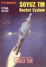 MAQUETTE MQ-44002 KIT 1/144 SOYUZ TM ROCKET SYSTEM (Partially built)