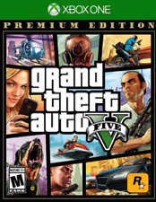New, Sealed GRAND THEFT AUTO V (Five) XBOX ONE, PREMIUM EDITION, GTA 5 Rated 'M'