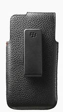 BlackBerry NFC Friendly Leather Swivel Holster for BlackBerry Z10 - Black BIN #9