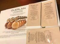 Guerlain L'essentiel Foundation 3 X Sample Card 0.5 mL Each (02N Clair/Light)