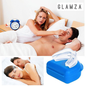 2 x SNORE STOPPER ANTI SNORING MOUTH GUARD DEVICE SLEEP AID STOP APNOEA UK SELL