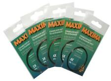 Maxima Ultragreen Tapered Leader 9ft 7.5lb Chameleon Tippet 3X Size New