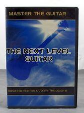 The Next Level Guitar Beginner Series Instructional DVD Set Discs 5 through 8