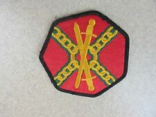NEW US Army Installation Management Dress Colored Military Patch
