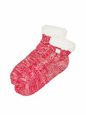 303e10a234 RED SHERPA BOOTIE SLIPPER SOCKS Victorias Secret PINK One size fits BRAND  NEW
