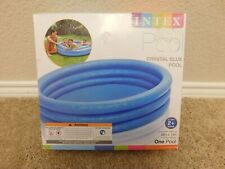 Brand new Intex 58in X 13in Crystal Blue Above Ground Pool