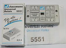 Viessmann 5551 Universalrelais m14 - 16 V =/~ in OVP