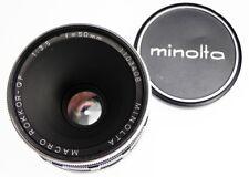 Minolta QF 50mm f3.5 Macro Leica SM  #1103408 ........... Minty