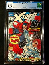 X-Force #10 CGC 🔥 9.8 (1992) - Deadpool cameo (Marvel) Liefeld